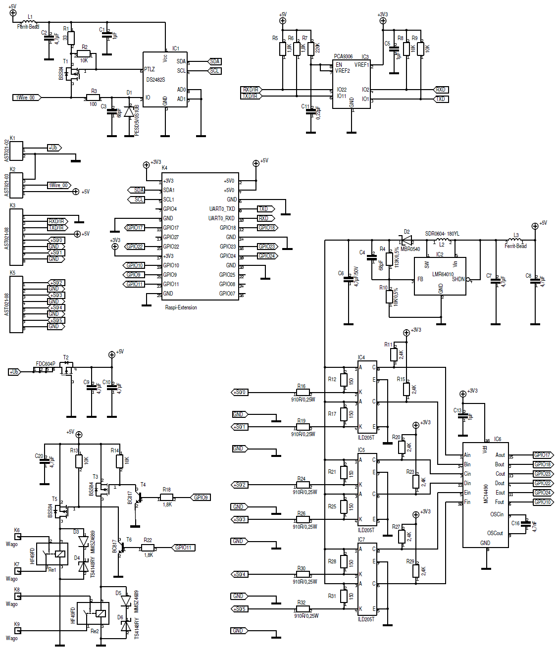 Uart Getting Garbage Raspberry Pi Forums Usb Rs232 Converter Circuit Schematic Summarizing The Rx Tx Has 5v There Is A 33v Inside And Enocean Rs485 Have As Well Theoretically
